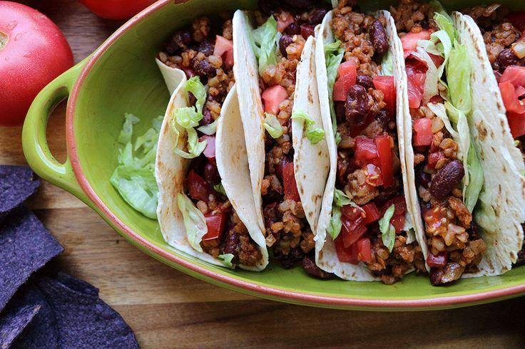 Essayez notre recette facile de tacos végétaliens,...
