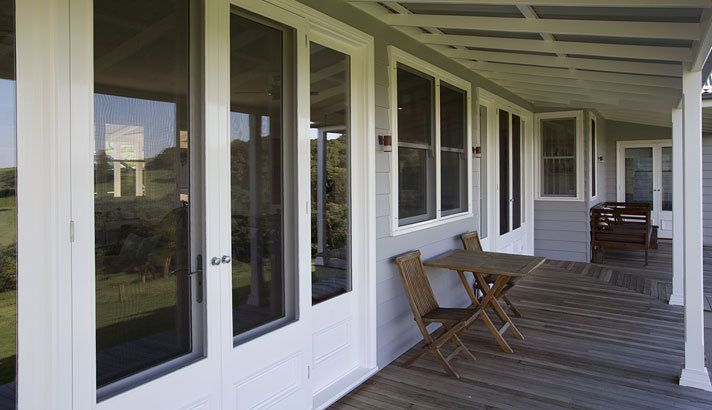 Strongbuild - weatherboard French doors with screen doors | Strongbuild homes | Pinterest & Strongbuild - weatherboard French doors with screen doors ...