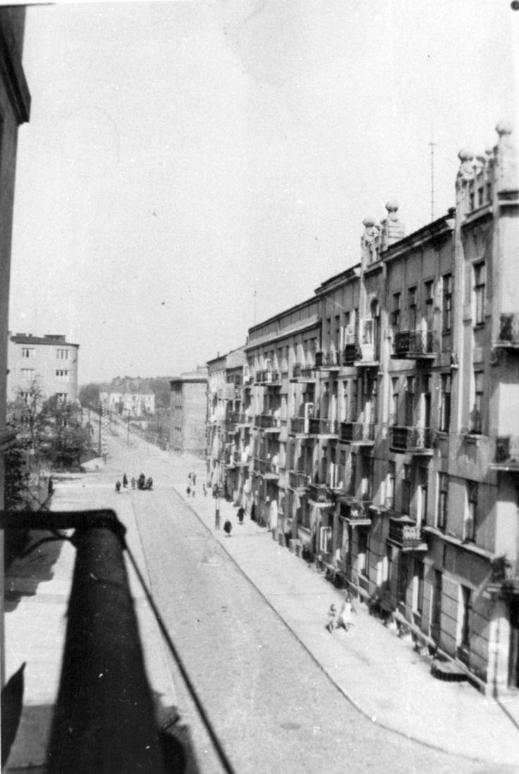 ul. Okopowa, 1944 r. źródło: rodzina płk. E.Czaplińskiego