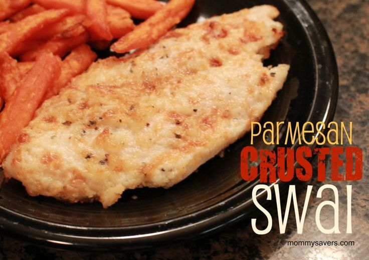 Parmesan crusted swai whitefish you can also use this for Is swai fish good