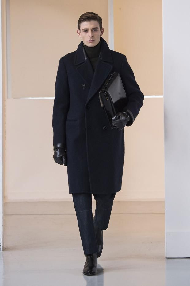 Christophe Lemaire Autumn (Fall) / Winter 2015 men's