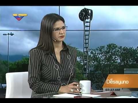 Entrevista a María Alejandra Díaz en El Desayuno (VTV), 9 diciembre 2015