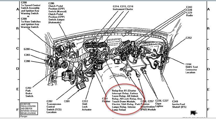 wiring diagram motor 23 ford ranger 8 bujias
