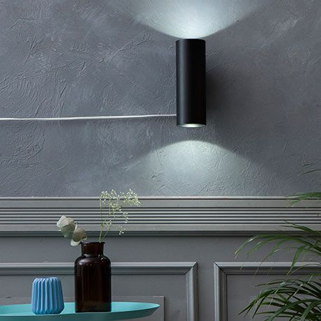 20 cm Siga Z Wall Lamp - Grey - alt_image_three