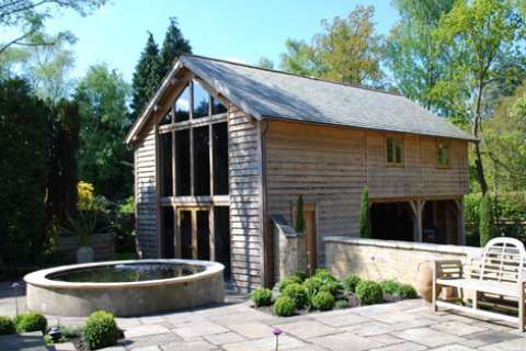 Green Oak Frames - English Oak Buildings | Homebuilding & Renovating