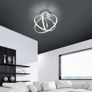 Schöne Deckenleuchte: http://lampen-led-shop.de/lampen/led-deckenlampe-dimmbar-durchmesser-designleuchte-online-kaufen/