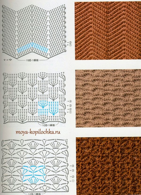 327 best Mas puntadas a crochet images on Pinterest | Crochet ...