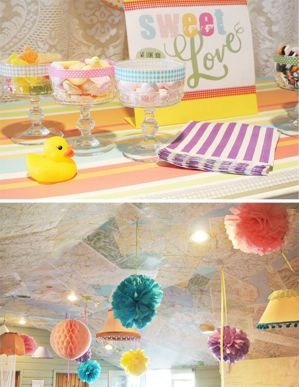 rubber duck baby shower images  Rubber Duck theme DIY baby shower ...