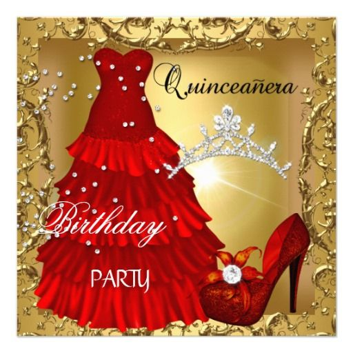 >>>Low Price Guarantee          	quinceanera 15th Birthday Party Gold Red Dress Personalized Invite           	quinceanera 15th Birthday Party Gold Red Dress Personalized Invite today price drop and special promotion. Get The best buyDiscount Deals          	quinceanera 15th Birthday Party Gol...Cleck Hot Deals >>> http://www.zazzle.com/quinceanera_15th_birthday_party_gold_red_dress_invitation-161104984558872893?rf=238627982471231924&zbar=1&tc=terrest