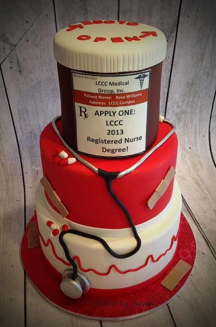 Registered nurse cake