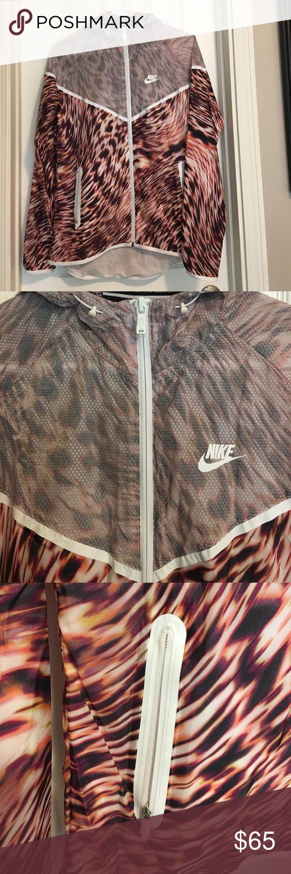 Nike Tech Hyperfuse Running Jacket New without tags. Women's windrunner running jacket. Nike Jackets & Coats