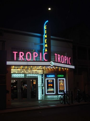 'Tropic Cinema' Neon Sign: Key West, Florida / photo by Christof Verboven