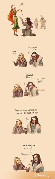 Lion King / The Hobbit Cross Over