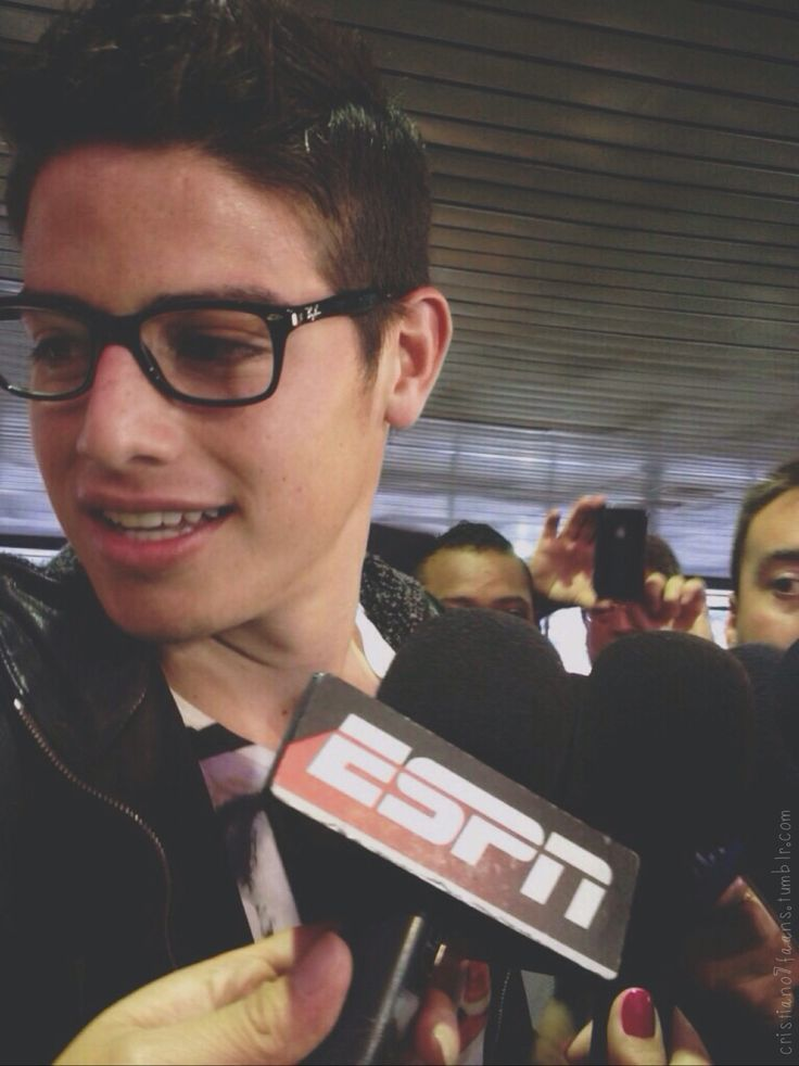 James in glasses is life ❤️