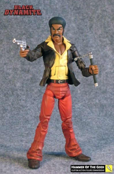 Black Dynamite custom action figure by Hammer of the Gods - @Steven Trotter Trotter Knight