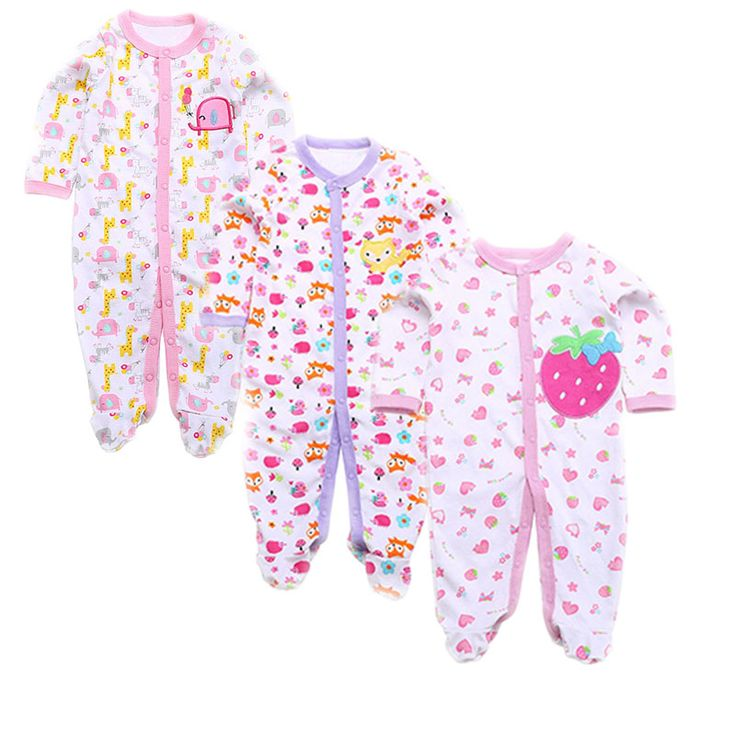 We are delighted to present our fresh-off-the-drawing-board range of goodies.   Like and Tag if you like this 3pcs/lot Unisex Pajamas.  Tag a mother who would like our huge range of babywear! FREE Shipping Worldwide.  Why wait? Buy it here---> https://www.babywear.sg/3pcslot-2016-new-arrival-baby-boy-girl-clothes-footed-baby-romper-baby-long-sleeve-cotton-newborn-baby-pajamas/   Dress up your baby in quality clothes today!    #babyrompers