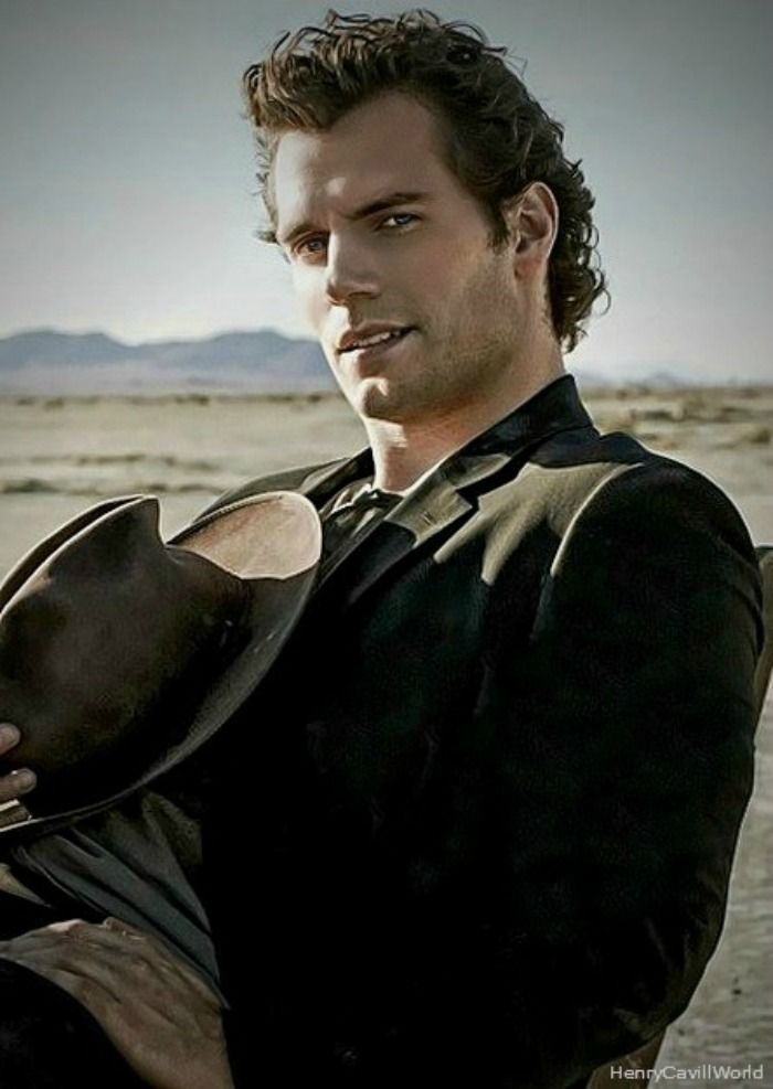 Henry Cavill....oh lord!! I want one of him, the hair, face, body......yum!