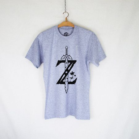 T-Shirt Geek Masculina - ZELDA BREATH OF THE WIND