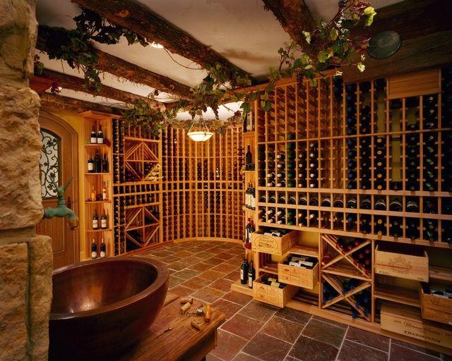 Wine & vines: Wine Rooms, Dream Homes, Dream House, Wine Wine, Cellars Idea, Basements, Wine Cellars, Heavens, Dream Rooms