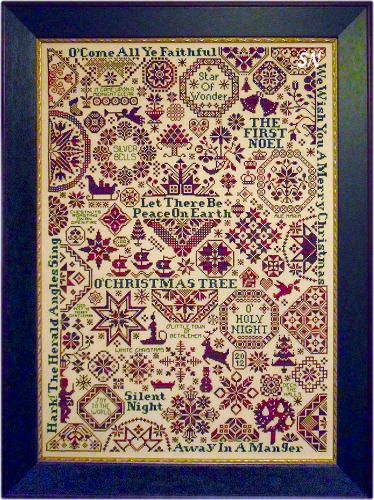 Quaker Christmas II - Songs of the Season from ByGone Stitches - click to see more