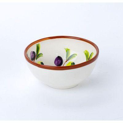 EuroCeramica Zeitona Cereal Bowl