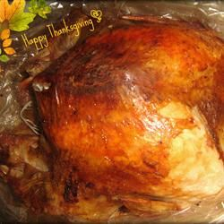 Turkey in a Bag Allrecipes.com  This is a very easy way to make a Thanksgiving turkey using an oven bag. The bird will be perfectly moist when done, and you can make gravy out of the juice that forms in the bottom of the bag. Plus, cleanup is a snap! The cooking time will vary for different sized turkeys.