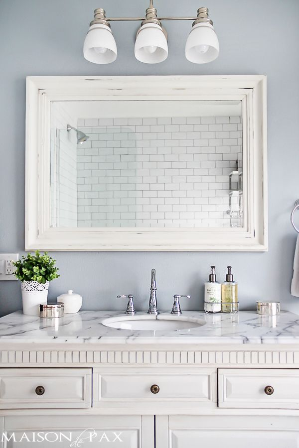 Bathroom Remodel Mirrors best 20+ frame bathroom mirrors ideas on pinterest | framed