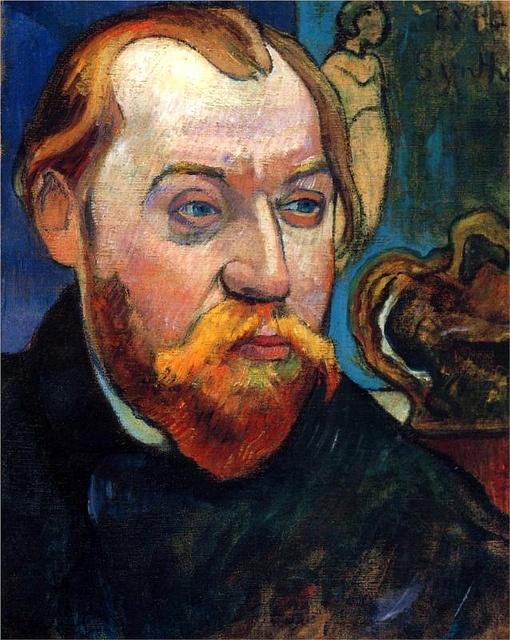 Portrait of Louis Roy, 1893 Paul Gauguin by BoFransson, via Flickr