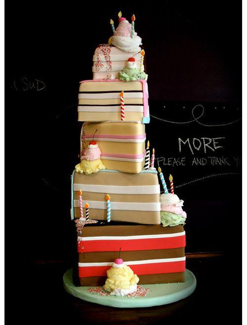 Gifts Wedding cake / Pièce-montée cadeaux