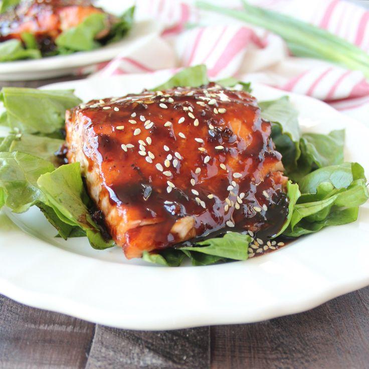 Korean BBQ Salmon Recipe