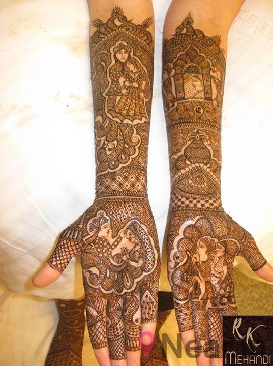 Mehndi Designs For Handsby RK Mehandi