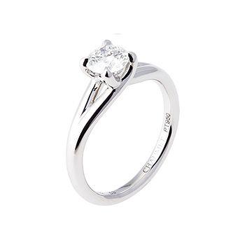 リアン・ドゥ・ショーメ - CHAUMET(ショーメ)の婚約指輪(エンゲージメントリング)婚約指輪は一粒ダイヤに♡ソリテールのエンゲージリング