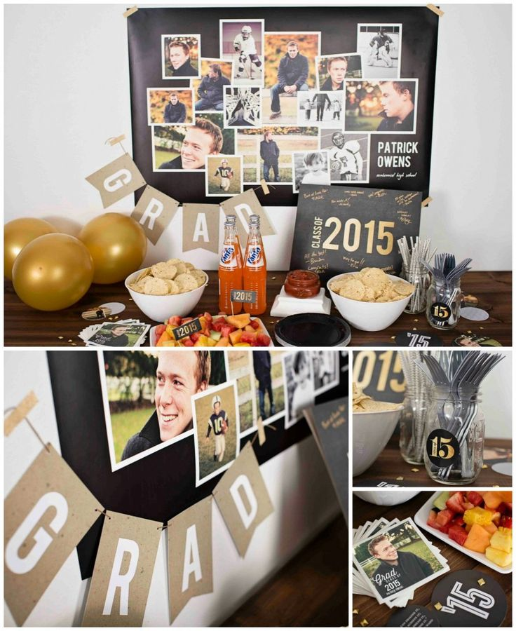 These graduation party ideas will help inspire you from graduation announcements to graduation photo display ideas and more. Click to read how you can replicate these ideas! #graduationpartyideas