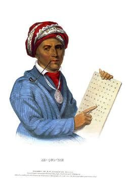 Sequoyah and the Cherokee Alphabet
