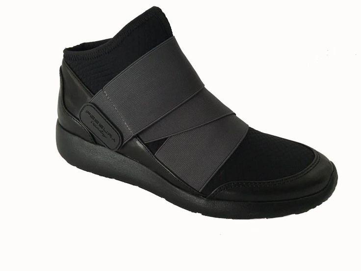 FESSURA scarpa donna nera e grigia, modello AIRSOCK BAND, suola air altezza cm…