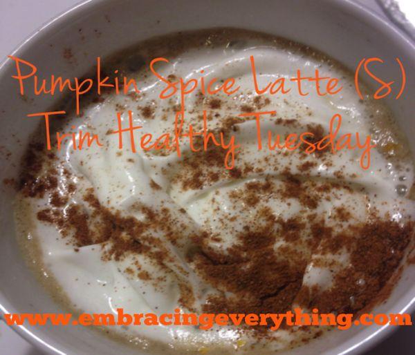 Pumpkin Spice Latte (S)