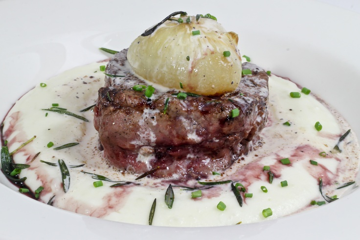 Grilled Beef Tenderloin & Escarole Recipe — Dishmaps