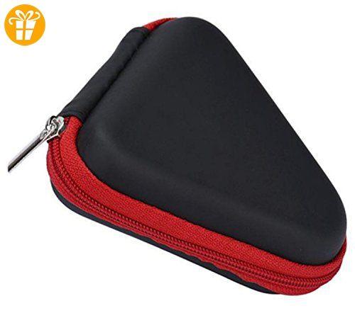 Haodou Tragetasche Packet für Fidget Hand Spinner Box Case für Dustproof Dreieck Gyro Spielzeug (rot) - Fidget spinner (*Partner-Link)