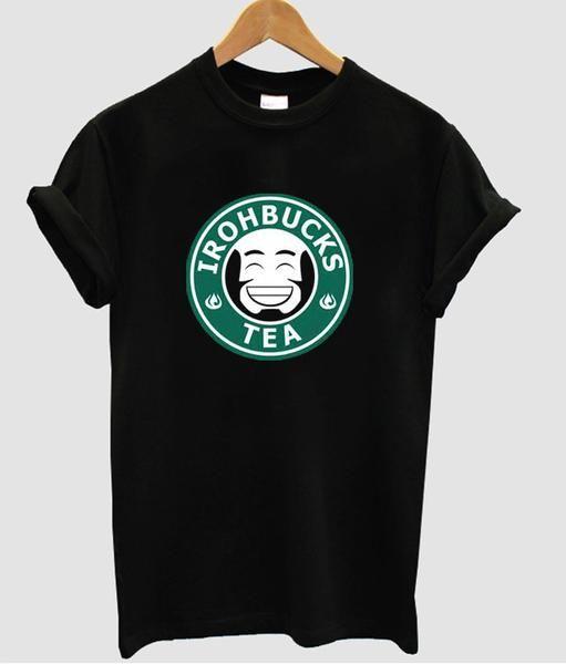 irohbucks tea t shirt