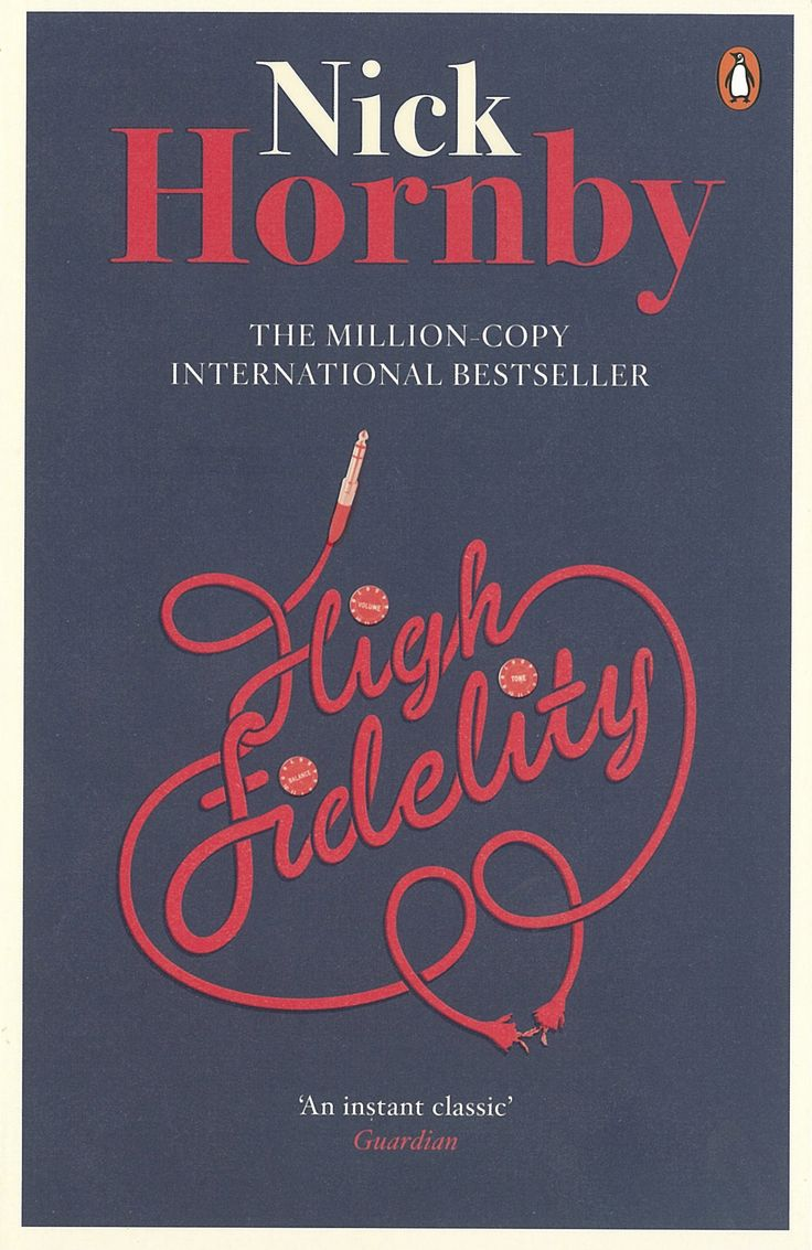 High Fidelity by Nick Hornby | Penguin Books- Such a fantastic and funny book, I'll definitely be re-reading!