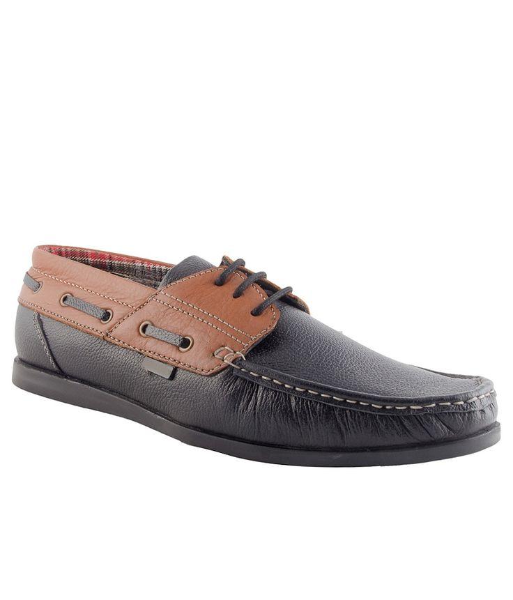 Numero Uno Black Formal Shoes