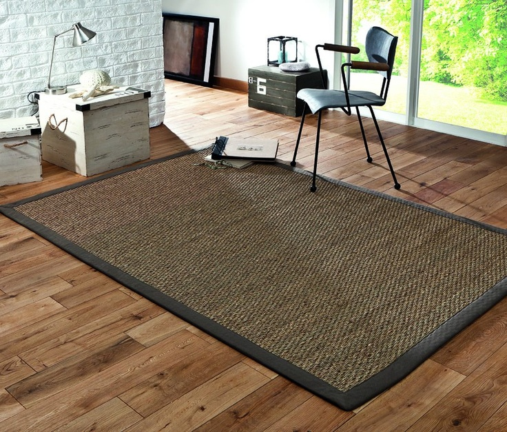 carrelage design tapis jonc de mer rond moderne design pour carrelage de sol et rev tement. Black Bedroom Furniture Sets. Home Design Ideas