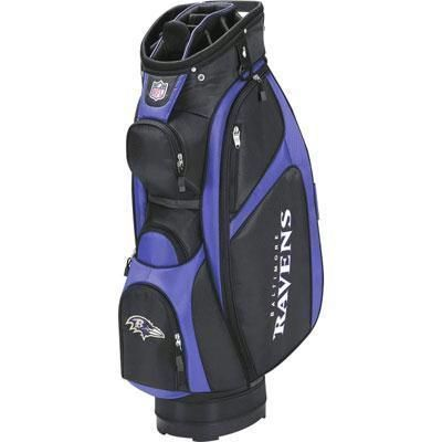 Wilson Golf - Nfl Cart Bag Baltimore Ravens