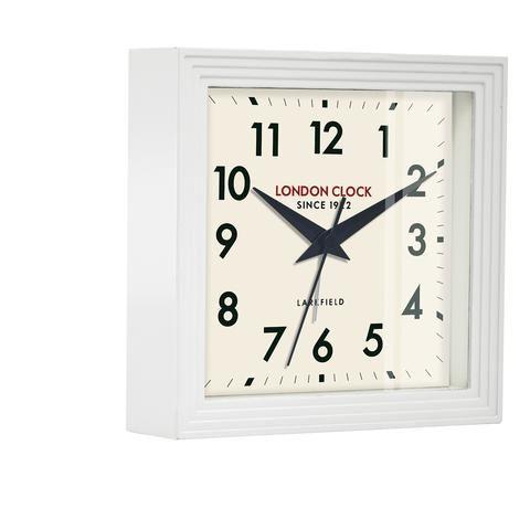london-clock-company-express-16cm-white-metal-table-clock