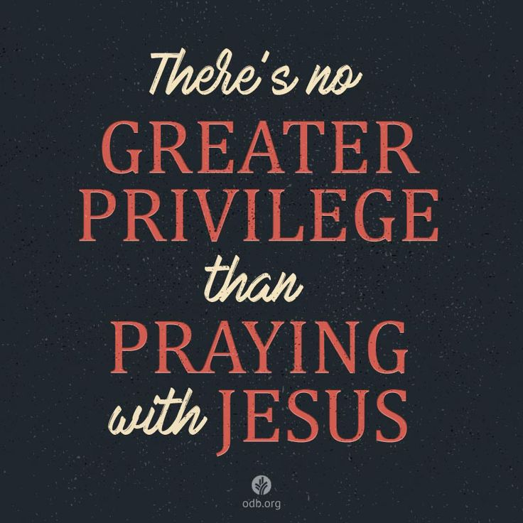 The Perfect Prayer Partner
