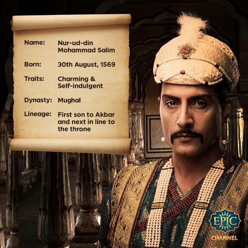 Charming, dreamy, and the first in line to the throne; how will Prince Salim meet his grand destiny? #Siyaasat every Thursday @ 9PM! #Mughal #History #Akbar #Royal #King #Throne #TheTwentiethWife
