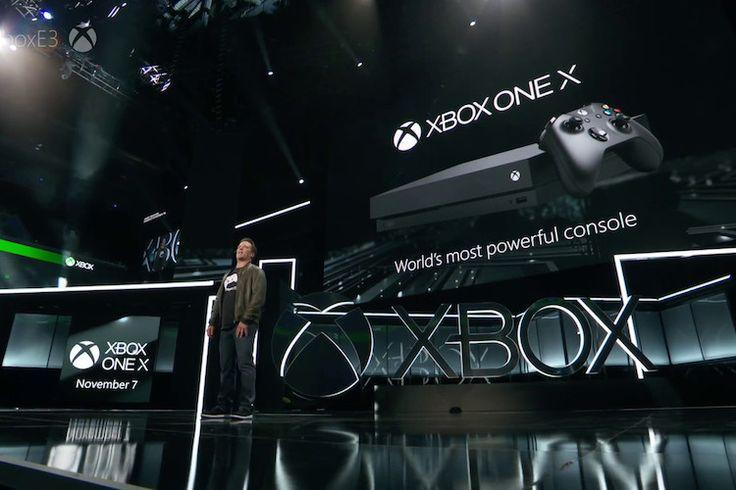 xbox-1 Microsoft anuncia en la E3 2017 la consola Xbox One X