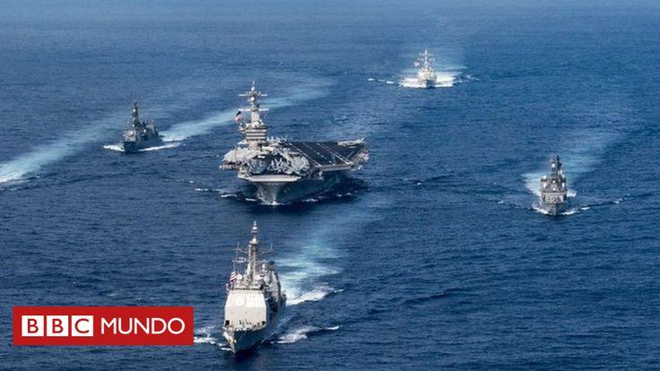 El despliegue de barcos de guerra de EE.UU. en la península de Corea llevó a Corea del Norte a advertir que está lista para responder a una posible agresión de Estados unidos. Pero, ¿qué capacidad de armamento tiene la flota estadounidense que ha puesto tan nervioso al gobierno norcoreano?
