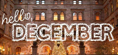 Hello December winter christmas december graphic hello december december quote december gif