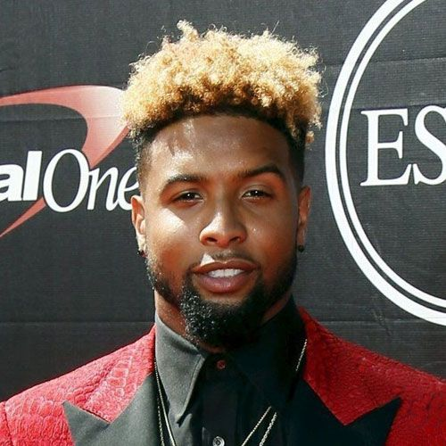 Odell Beckham Jr. Hair - Fade with Sponge Twists